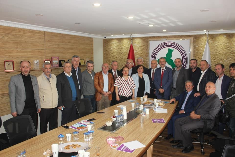 Akkuş Dernekler Federasyonu Olarak; CHP Ordu Belediye Başkan Adayı Dr. Mustafa ADIGÜZEL'e Akkuş İlçesinin Tüm Sorunlarını İlettik.