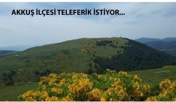 Alpmedyaajans Akkuş Argan'a Teleferik Yapılması Önerimize Destek Verdi.