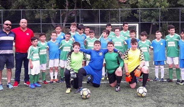 Zonguldak'ta Kurulunan Akkuşspor İlk Maçını 6 Pas Futbol Takımı İle Yaptı