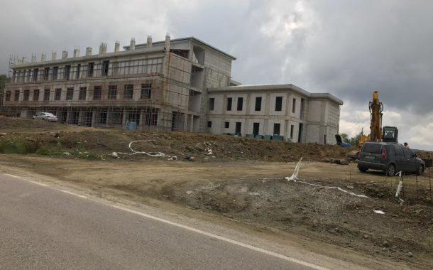 24.07.2019 günü Akkuş ilçesi 25 kişilik yeni devlet Hastanesinden son görüntüler