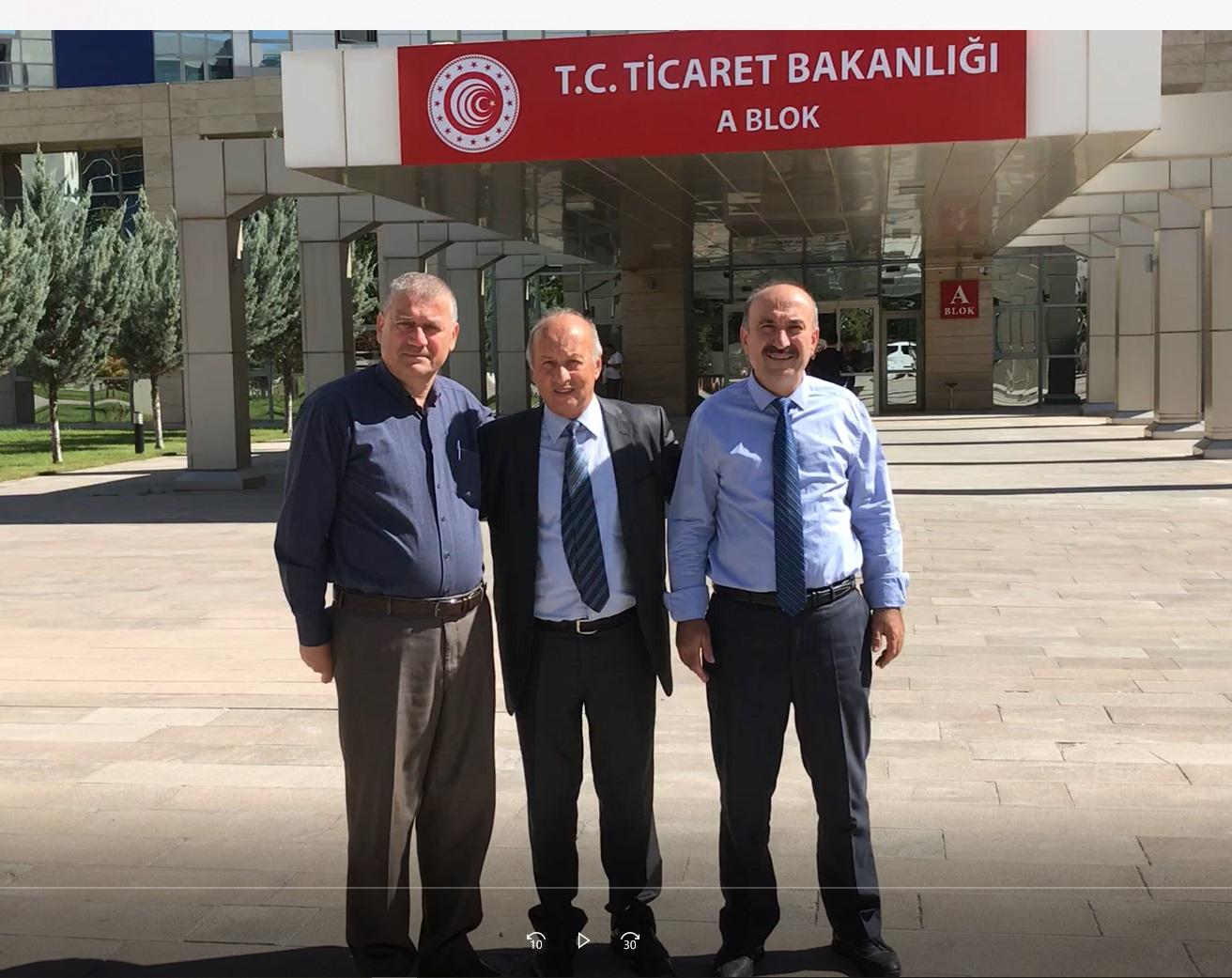 AOÇ Müdür Yardımcısı Ziraat Mühendisi Halis TÜRKOĞLU Sitemiz Yapımcılarından İhsan ÇAM'ı Ziyaret Etti.