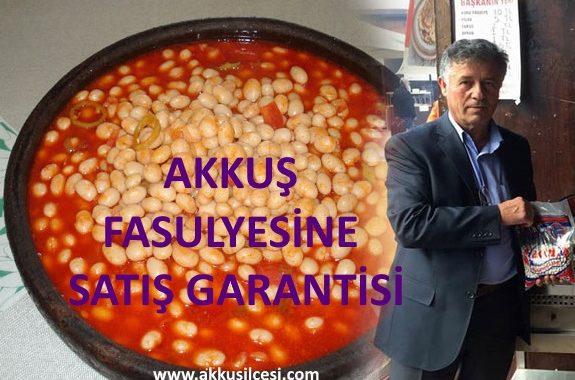 """Akkuş Ziraat Odası Başkanı Ahmet Kaya, """"Akkuş Şeker Fasulyesinin pazar sorununu çözdük. Tarım Kredi mağazalarında ürünümüz satılacak. O nedenle Akkuşlu olan herkese çağrım; yapabildikleri kadar fasulye ekim ve dikimi yapmalarıdır"""" dedi."""