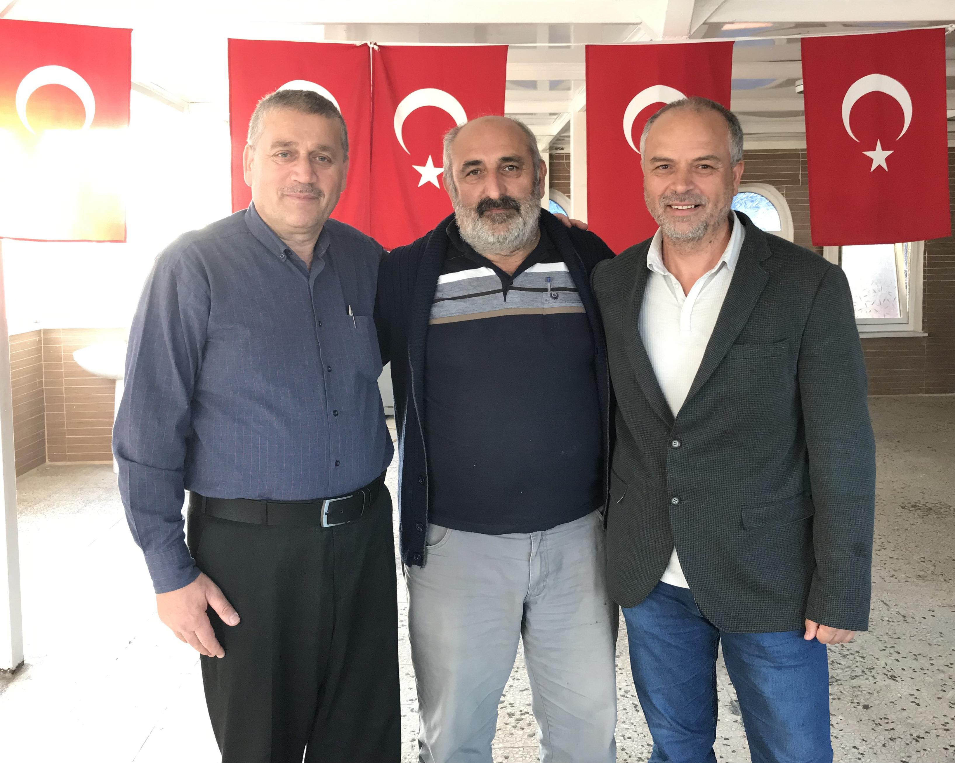 Sitemiz Yapımcılarından İhsan ÇAM; Zonguldak'ta Recep KIRIK ve Durmuş SEVİNDİK İle Görüştü