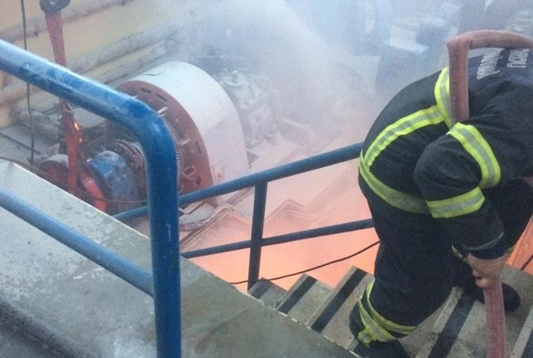 Akkuş Gökçebayır Tifi Irmağı üzerinde bulunan Umut 1 Hes Santralinde patlamada 4 işçi yaralandı.