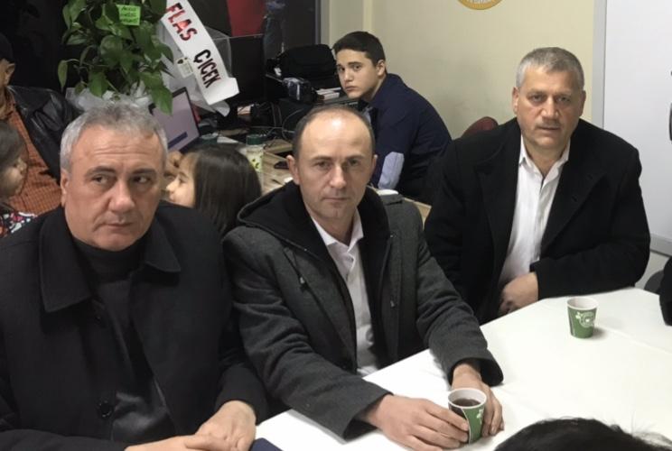 Akkuş Dernekler Federasyonu Yönetim Kurulu Başkanlığına Seçilen Sitemiz Köşe Yazarı Mehmet GÜMÜŞ'ü Ankara Ziyaretinde Tebrik Ederek Görevinde Başarılar Diledik.