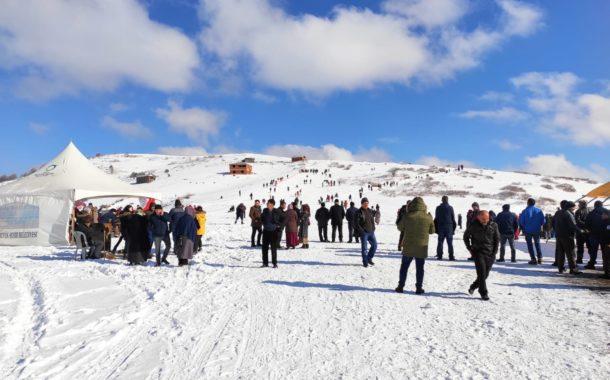 Akkuş İlçesi İnternet Sitesi; Argan Yaylası Kar Festivaline Katıldı.