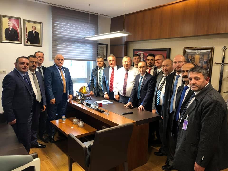 AKDEF Olarak ANKARA Ziyaretlerimiz Kapsamında MHP Milletvekili Ordulu Hemşehrimiz Sayın Cemal ENGİNYURT'u TBMM de bulunan makamında ziyaret ettik.