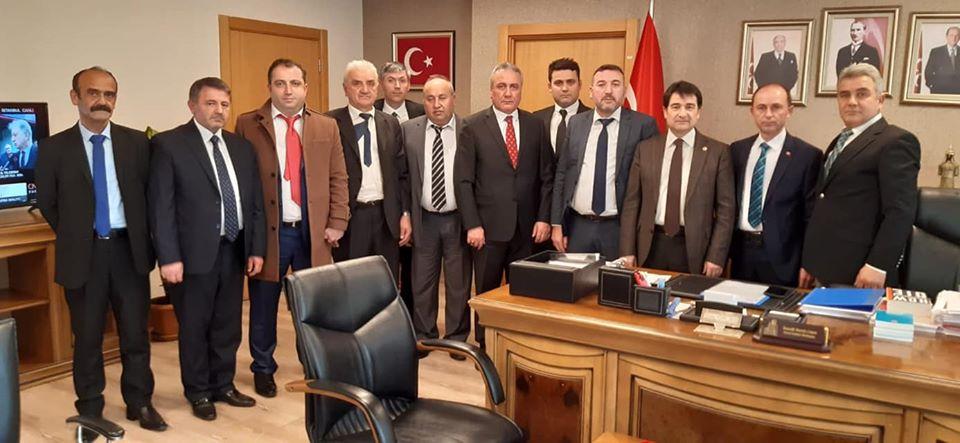 AKDEF Olarak ANKARA Ziyaretlerimiz Kapsamında MHP Genel Başkan Yardımcısı Ordulu Hemşehrimiz İsmail Faruk AKSU'yu Parti genel merkezinde ziyaret ettik.
