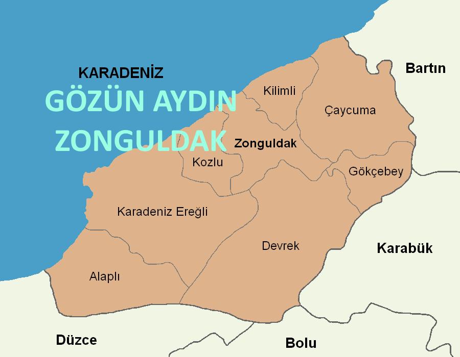 Gözün Aydın Zonguldak; İlçeler Arası Geçişler Serbest Oldu. İlde Dolaşım Serbest Oldu.