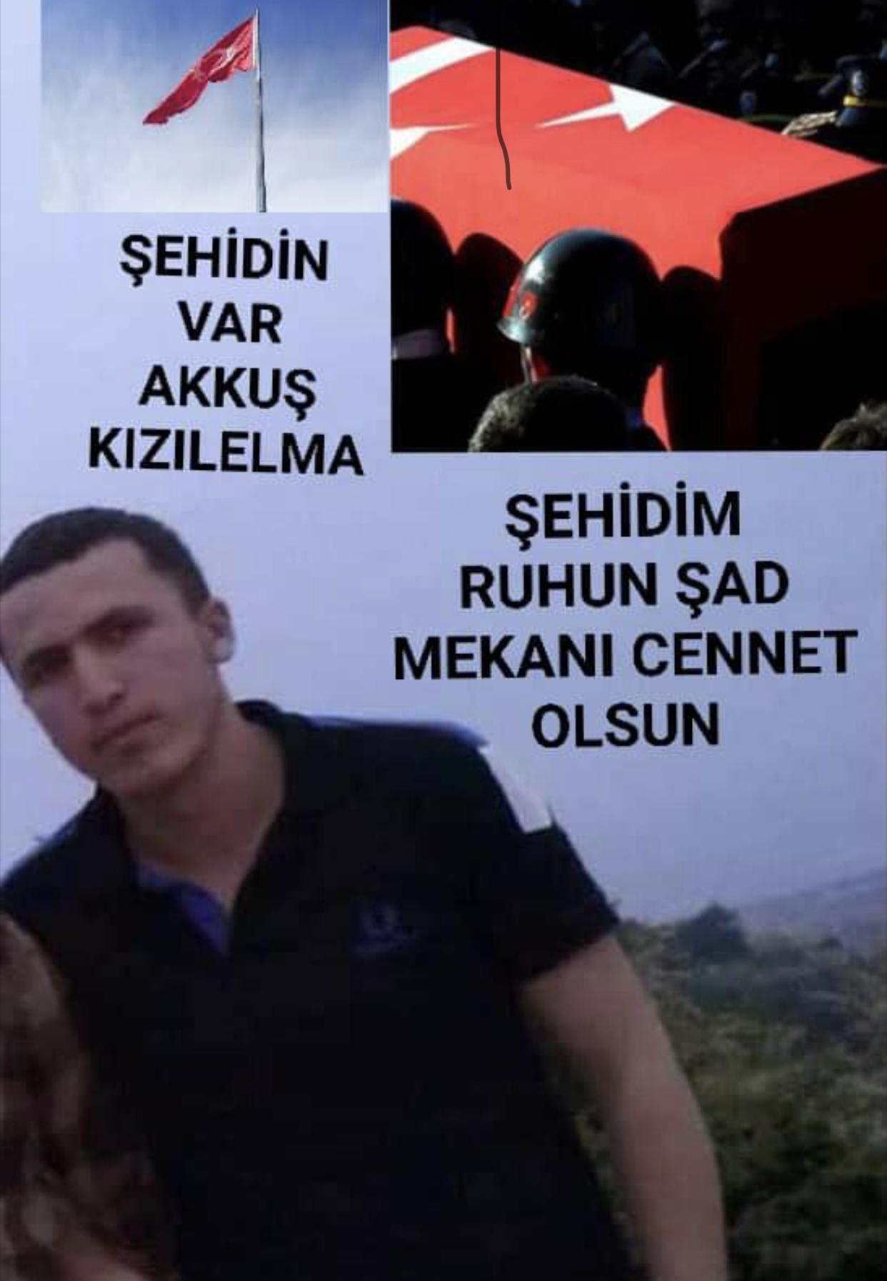 Akkuş İlçesi Kızılelma Mahallesinden Sözleşmeli Er Ramazan ELMAS Şehit Düştü