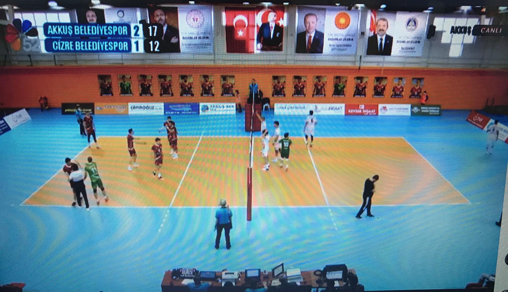 Akkuş BelediyesporYine Harika Cizre Belediyespor'u 3-1 Yendi