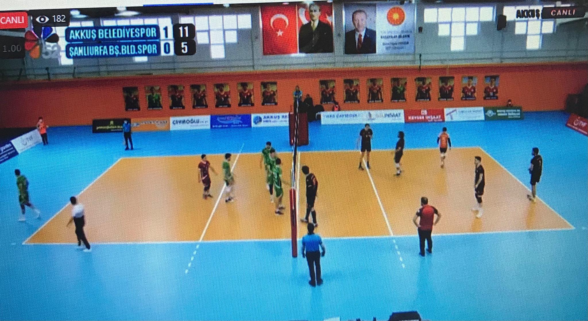 Akkuş Spor Şanlıurfa Spor'u 3-0 Yendi. Tebrikler